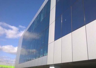 Система за монтаж на алуминиеви композитни панели